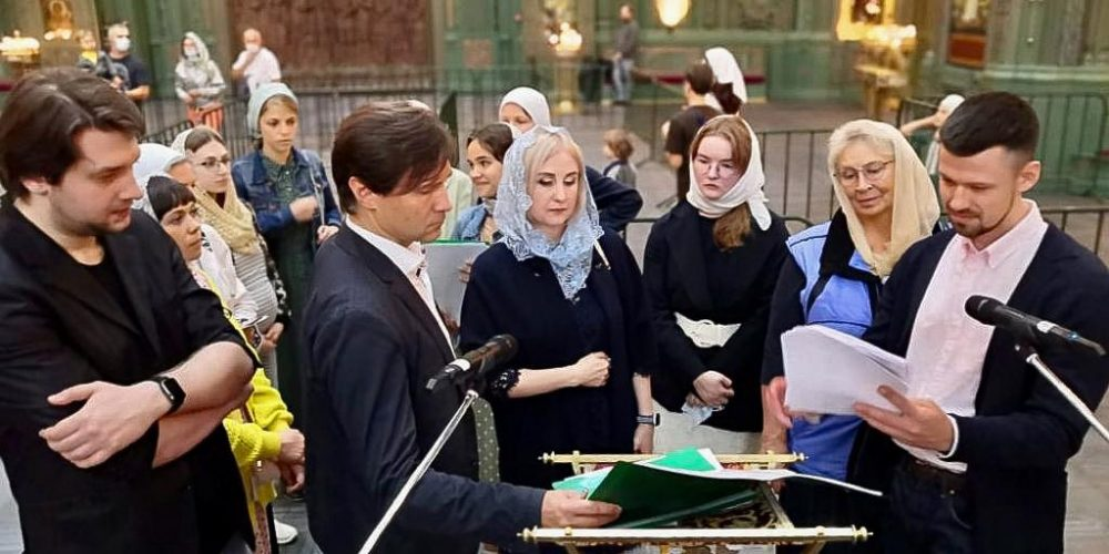 Духовенство Западного викариатства совершило молебное пение у мощей свт. Луки Крымского