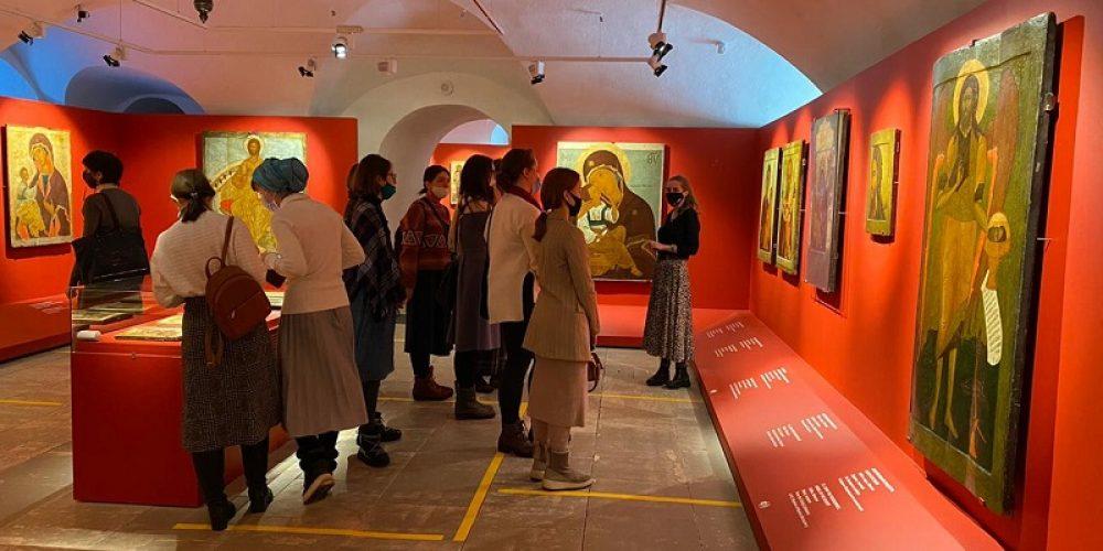 Учащиеся иконописной школы ДПЦ «Дионисий» побывали с экскурсией в музее им.Андрей Рублева
