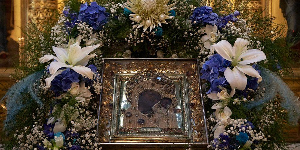 В канун праздника Казанской иконы Божией Матери епископ Фома совершил всенощное бдение в Богоявленском соборе