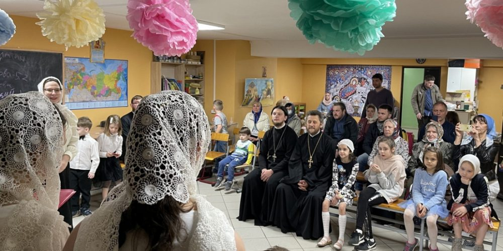 В храме Всех святых на Филевской пойме состоялся концерт «От Светлой Пасхи до Дня Победы