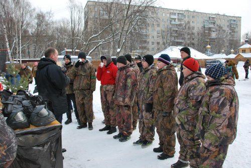 19 февраля 2012 года на территории храма прп. Серафима Саровского в Кунцеве состоялся турнир по пейнтболу
