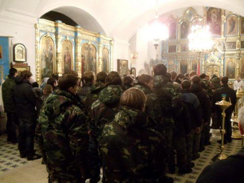 Зимние сборы «Наследники Суворова» для членов военно-патриотических клубов