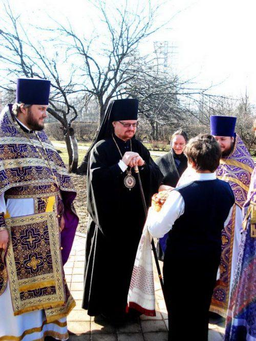 Епископ Выборгский и Приозерский Игнатий, управляющий Западным викариатством  г. Москвы посетил храм Святителя Иова в его Престольный Праздник