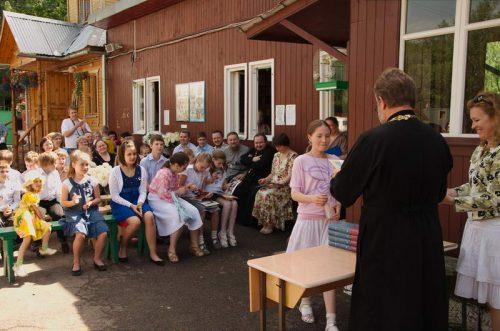 Выпуск-2013 воскресной школы при храме прп Серафима Саровского в Кунцеве