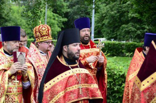 Престольный праздник храма прав. Иоанна Русского в Кунцево