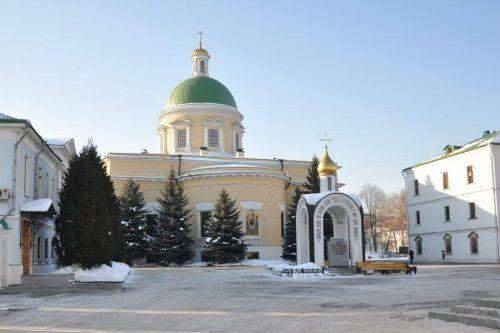 Посещение Данилова монастыря
