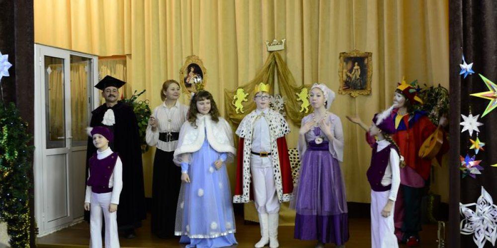 Рождественский праздник воскресной школы храма прав. Иоанна Русского в Кунцеве
