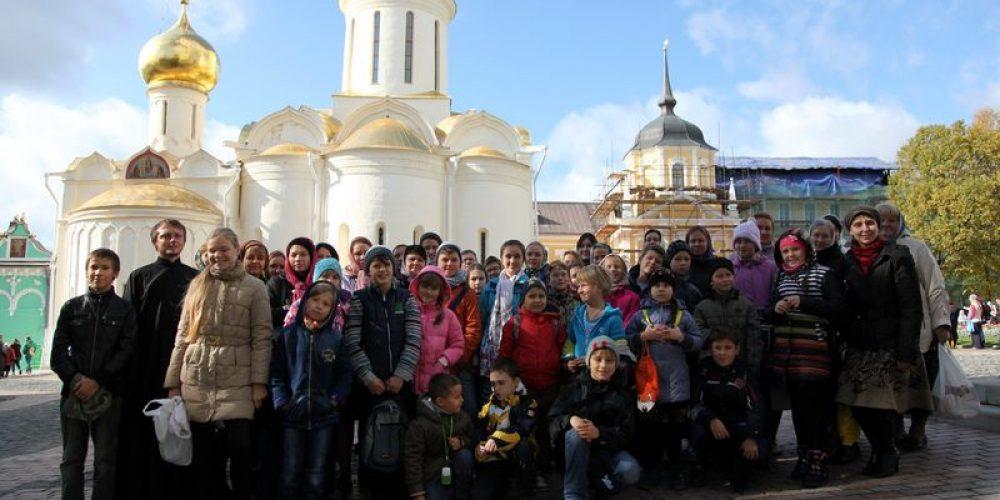 Совместная паломническая поездка в Троице-Сергиеву Лавру и Хотьковский женский монастырь