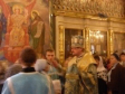 В праздник Рождества Пресвятой Богородице в храме Рождества Иоанна Предтечи на Пресне совершены торжественные богослужения. В канун праздника епископ Бронницкий Игнатий возглавил всенощное бдение.