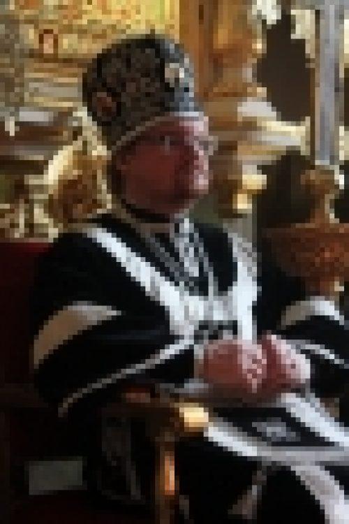 Епископ Бронницкий Игнатий совершил Литургию Преждеосвященных Даров в день памяти Сорока мучеников Севастийских