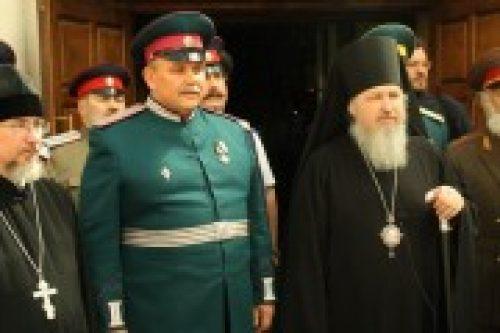 В Донском монастыре состоялось подписание соглашения о сотрудничестве между Синодальным комитетом по взаимодействию с казачеством и Союзом казаков России