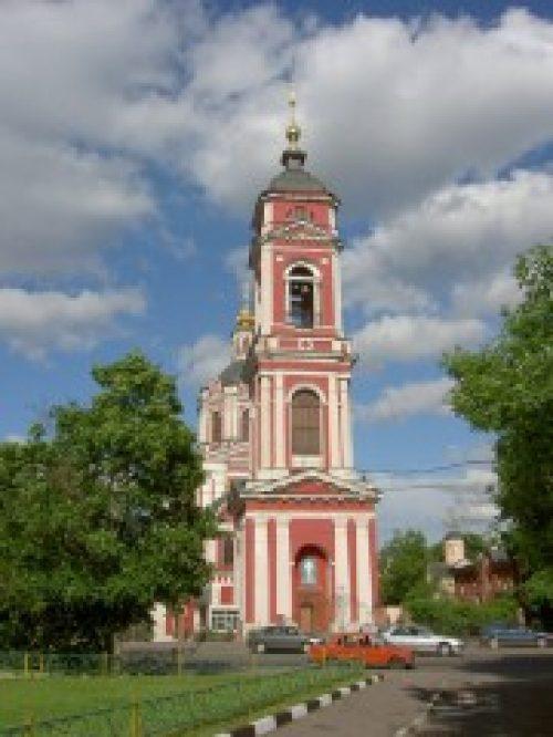 Архиепископ Белоцерковский и Богуславский Августин возглавил Божественную литургию в храме Вознесения Господня за Серпуховскими воротами