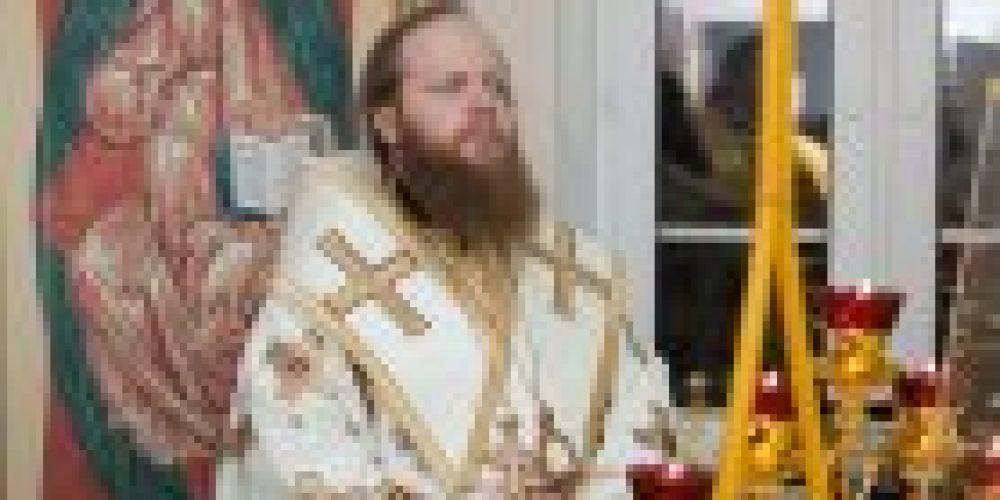 Первая литургия в домовом храме гимназии