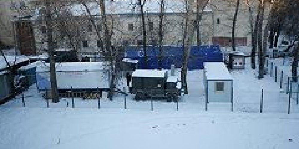 В Москве открылся первый пункт обогрева для бездомных