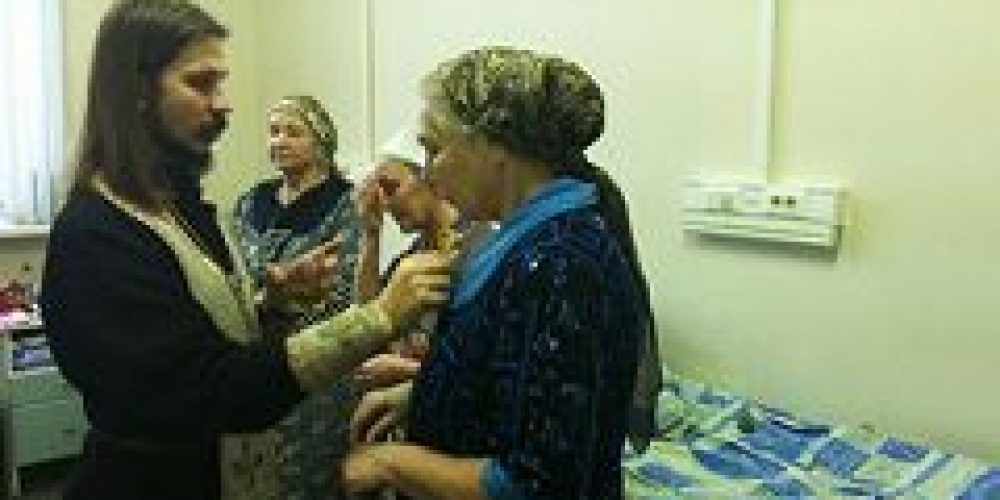 Клирик и прихожане храма Живоначальной Троицы в Хохлах посетили Научно-практический центр интервенционной кардиоангиологии