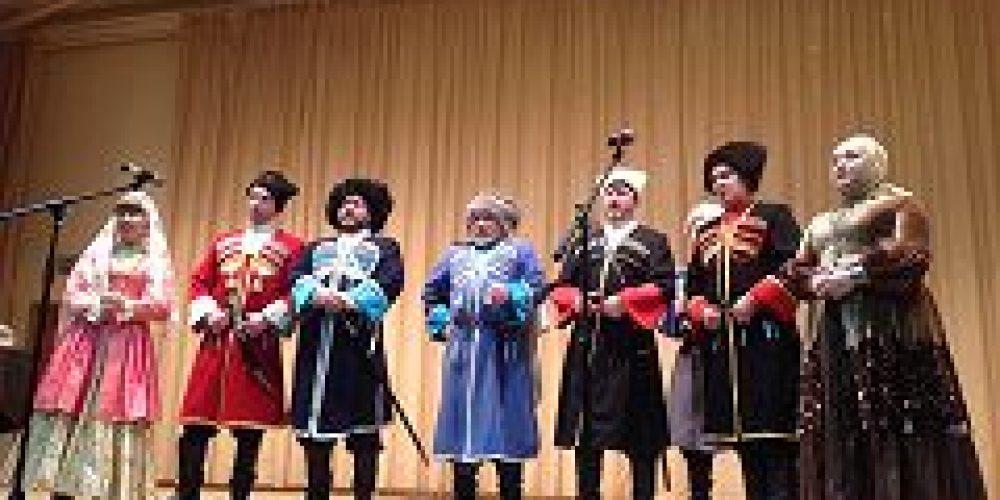 В Московском казачьем кадетском корпусе им. М. А Шолохова  состоялся праздничный концерт