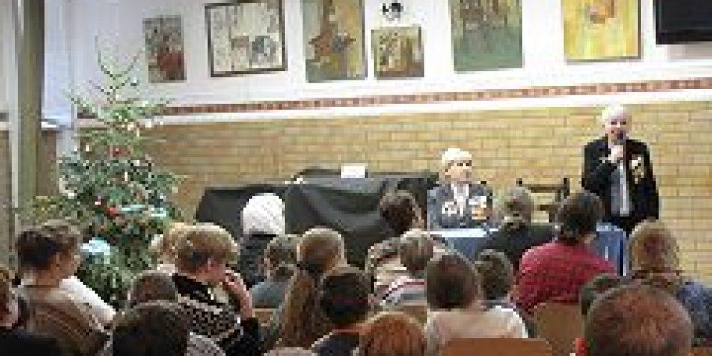 В Культурно-просветительском центре во имя свт. Иоанна Златоуста прошло мероприятие, посвященное 70-летию снятия блокады г. Ленинграда
