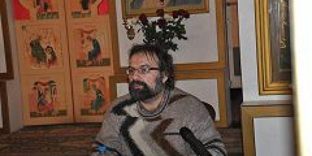 В храме Покрова Пресвятой Богородицы в Ясеневе состоялась встреча с публицистом и апологетом С.Л. Худиевым