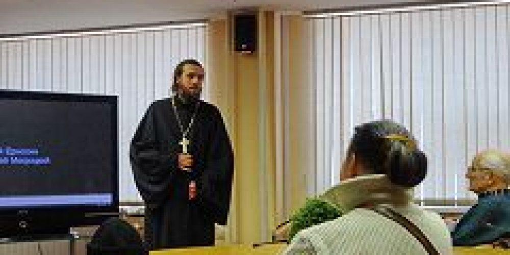 Клирик и несколько прихожан храма свт. Николая в Покровском посетили КЦСО «Мещанский»