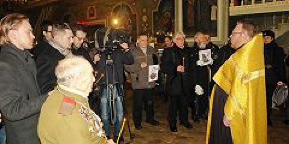 В храме Всех святых во Всехсвятском на Соколе состоялась панихида по участникам Русско-японской войны