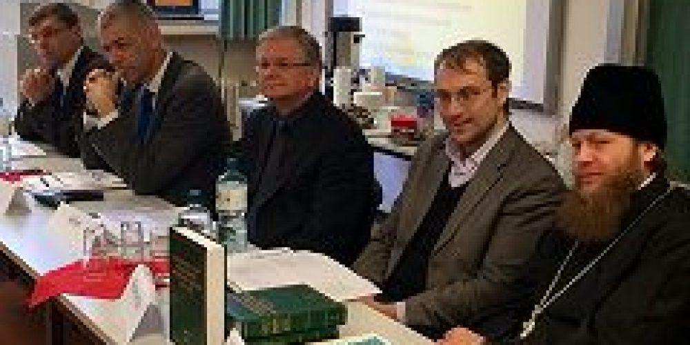 Наместник Новоспасского монастыря возглавил российскую делегацию на конференции в Мюнстерском университете