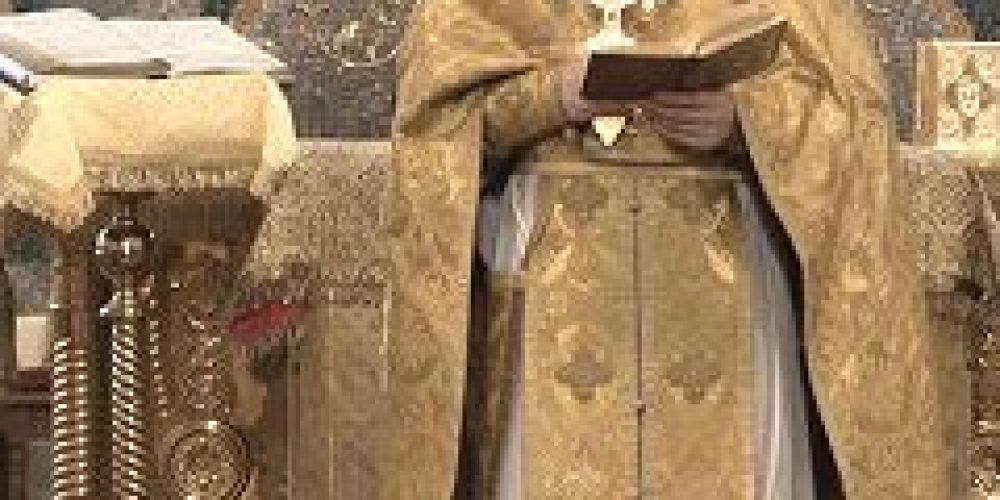 В домовом храме мц. Татианы при МГУ была совершена Божественная литургия на греческом языке
