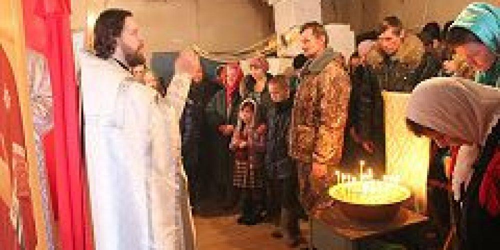 Прихожане храма Феодора Тирона совершили миссионерскую поездку в Вологодскую область