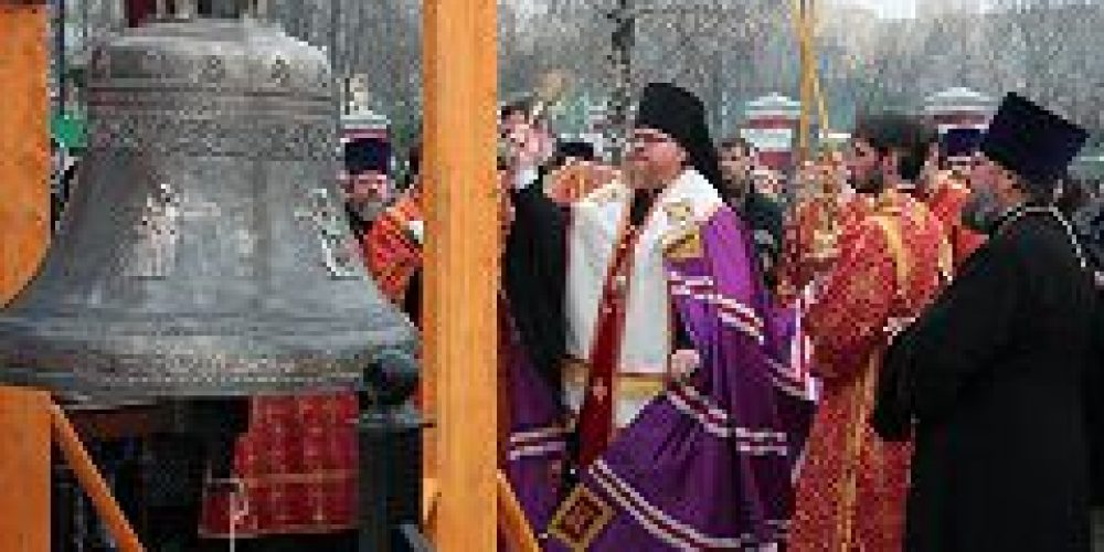 Епископ Подольский Тихон совершил Литургию в храме Тихвинской иконы Божией Матери в Алексеевском, а также возглавил заседание Совета Северо-восточного викариатства