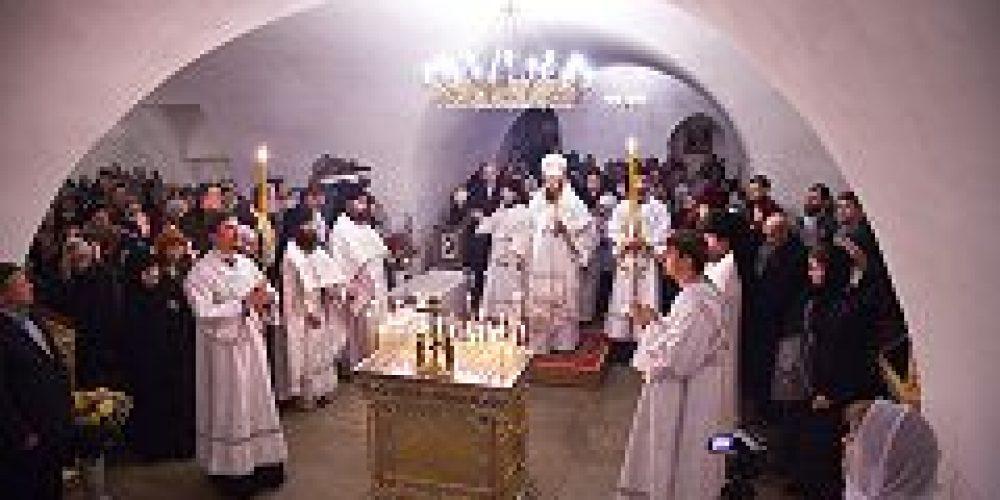 В Новоспасском монастыре состоялся день памяти великого князя Сергея Александровича