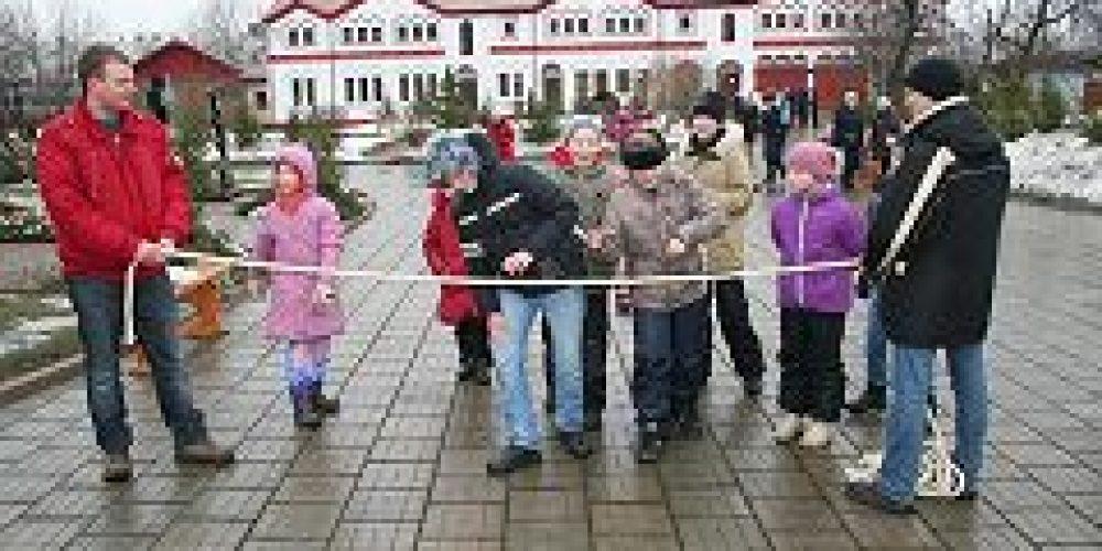 В преддверии cырной седмицы приход храма Преображения Господня в Тушине организовал детский праздник