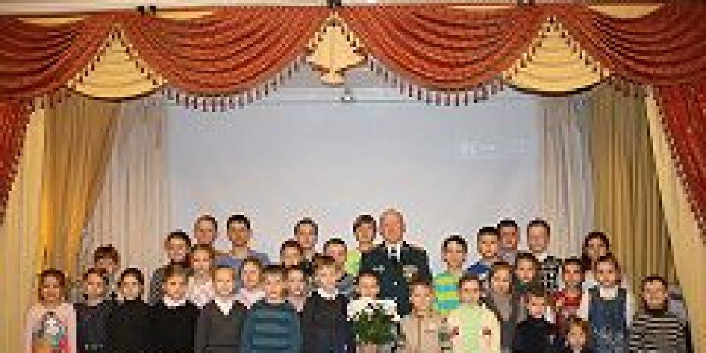 В воскресной школе храма Рождества Христова в Черкизове состоялся урок мужества