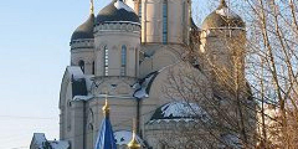 В храме иконы Божией Матери «Утоли моя Печали» в Марьино состоялась Литургия, за которой пономарили, пели и молились воспитанники воскресных школ Юго-восточного викариатства