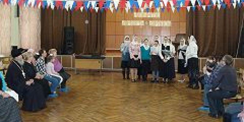 В воскресной школе храма Живоначальной Троицы в Конькове отметили День семьи