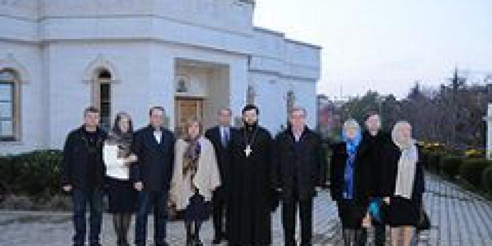 Председатель Императорского православного палестинского общества С.В. Степашин посетил храм св. вмц. Екатерины в Риме