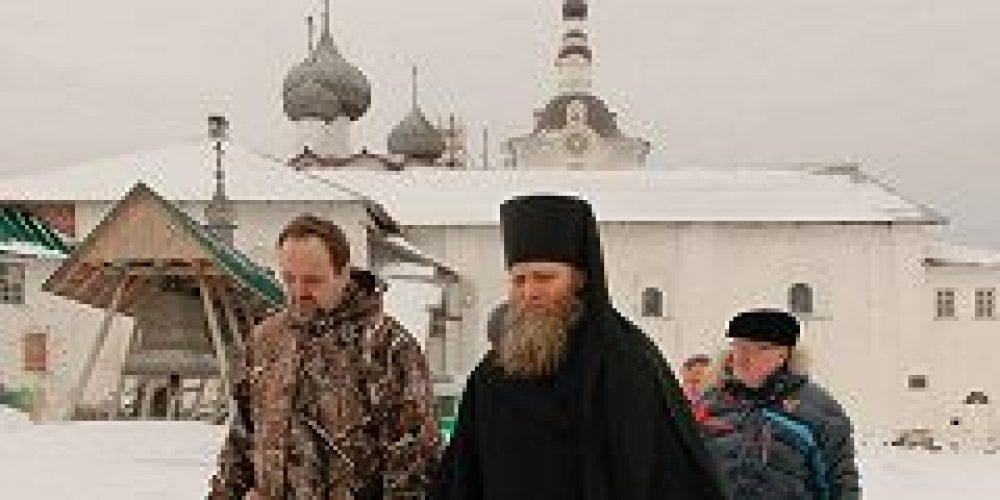 Министр природных ресурсов и экологии России С.Е. Донской посетил Соловецкий монастырь
