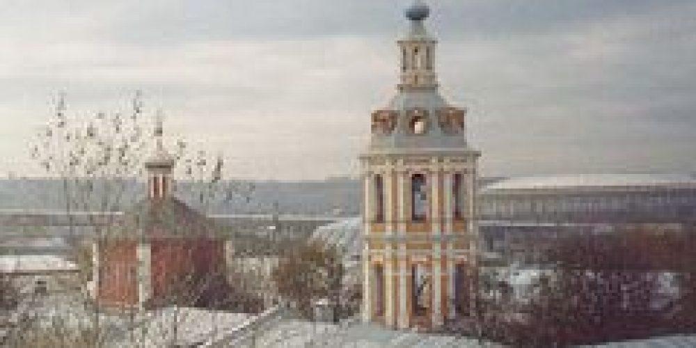 Архиепископ Сергиево-Посадский Феогност совершил Литургию святителя Иоанна Златоустого в Андреевском монастыре