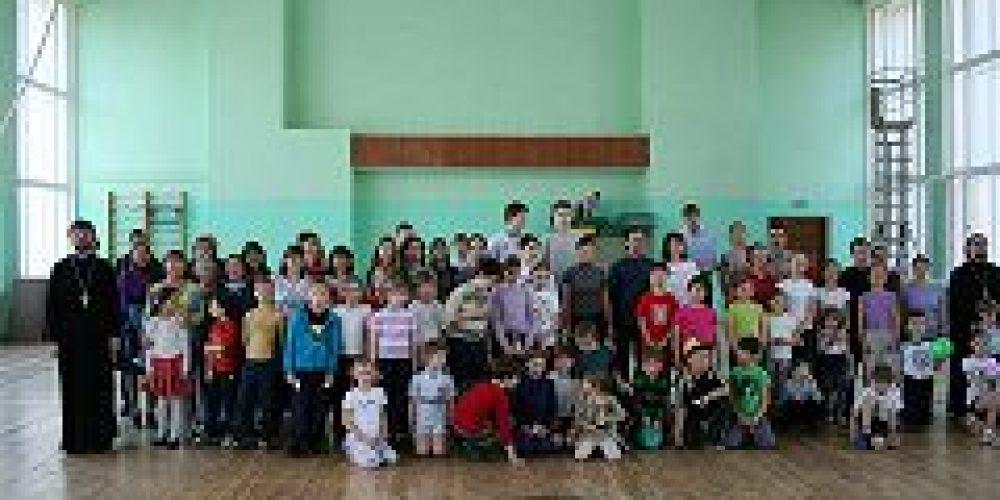 В Москве состоялись IV Межприходские игры Центрального и Михайловского благочиний «Выходи, поиграем»