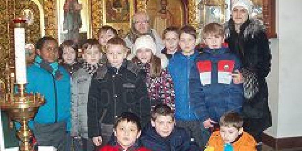 В храме Живоначальной Троицы в Конькове прошел открытый урок по ОПК
