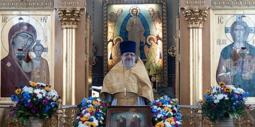 70-летний юбилей празднует клирик храма св.вмч. Георгия Победоносца священник Вадим Никулин