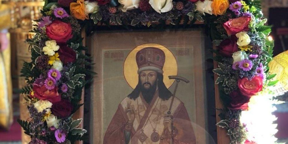 Престольный праздник отметили в храме святителя Димитрия митрополита Ростовского в Очаково
