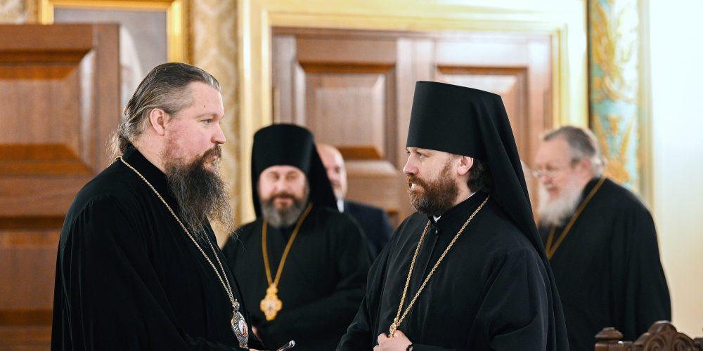 Епископ Одинцовский и Красногорский Фома принял участие заседание оргкомитета Архиерейского Собора РПЦ