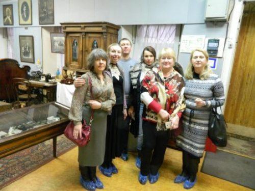 Прихожане храма благоверного Александра Невского при МГИМО посетили Музей предпринимателей, меценатов и благотворителей