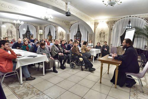 Новый учебный год начался в Школе приходского консультанта храма святого благоверного Александра Невского при МГИМО