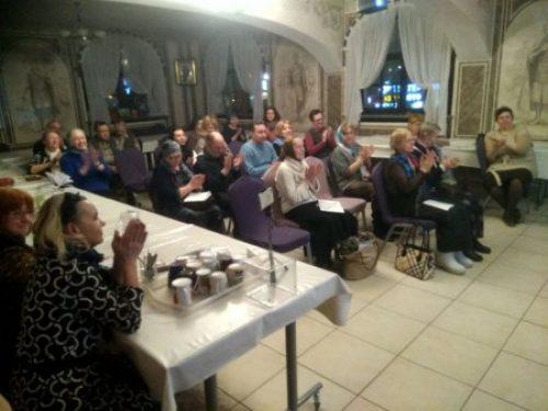 Специалист по зависимостям провел семинар в храме Александра Невского при МГИМО