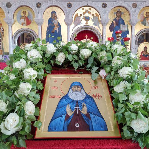 В храм преподобного Сергия Радонежского в Солнцеве привезена икона преподобного Гавриила