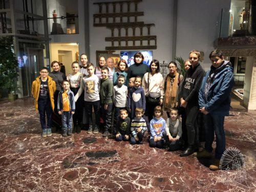 Юные прихожане храма Казанской иконы Божией Матери в Орлово посетили Музей русской иконы