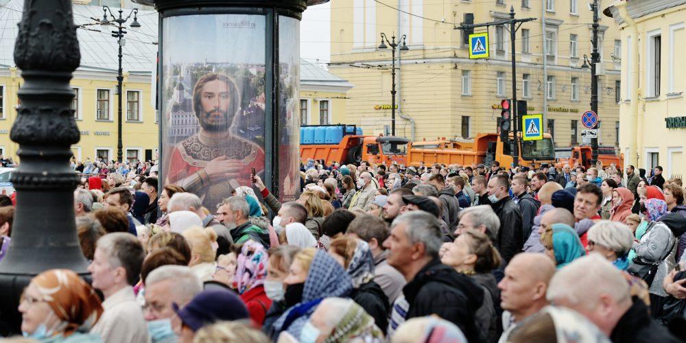 В Псковской области открыт мемориальный комплекс «Князь Александр Невский с дружиной»