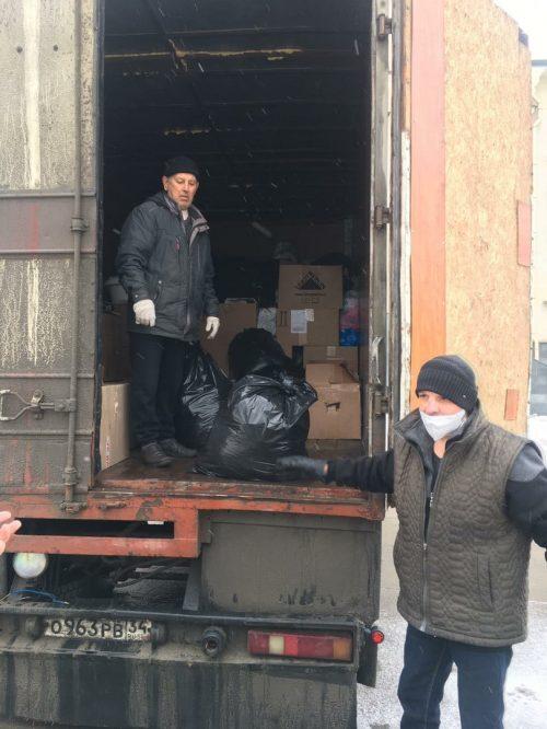 Храм прп. Андрея Рублева передал гуманитарную помощь в Волгоградскую область