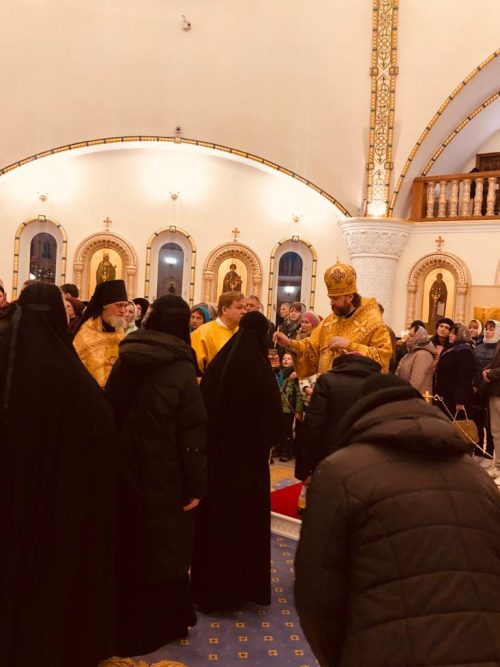 Управляющий Западным викариатством совершил всенощное бдение в канун Недели о Страшном суде в Переделкине