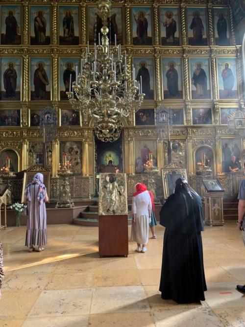 Eпископ Фома в день памяти святого пророка Божия Илии cовершил Литургию